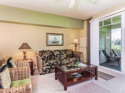 Photo for Luxury Resort Garden View Condo with A/C, Lanai, Jacuzzi Bathtub, Complex Pool, Hot Tub, Gym (1 BR)