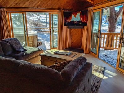 Ski In Ski Out Big Bear Mountain - Nursery, Outdoor Spa and Pet Friendly!