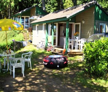 Photo for Camping Beau Rivage **** - Chalet Bastidon 3 Rooms 4 People
