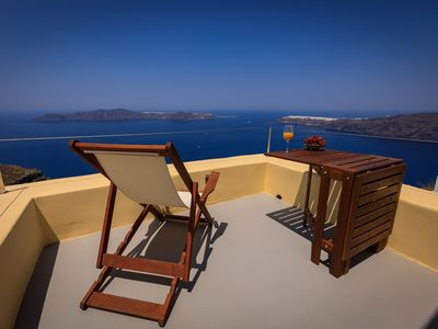 Photo for Villa Azure (Panoramic Caldera View)