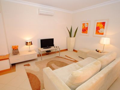Photo for Victoria Boulevard Superb 2 Bedroom Ground Floor Apt shared pool nr Vilamoura