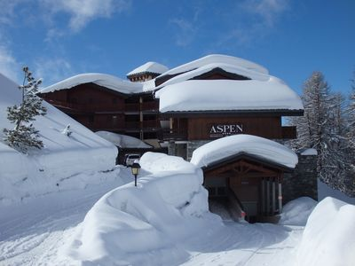 Photo for residence with pool, sauna, steam room, alt 2050m in PLAGNE VILLAGE