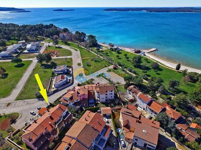 Photo for Apartment 311/707 (Istria - Fažana), Beach front accommodation, 75m from the beach