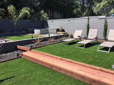Photo for Enjoy Sunny ☀️ Back Yard, Fire Pit-Near San Francisco, Silicon Valley, Airports