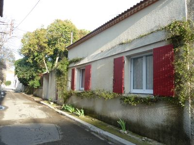 Photo for detached house in the ground floor village, garden, air conditioning, near the sea