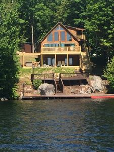 Photo for Beautiful, Modern Waterfront ADK Home - Great Location