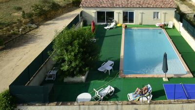 Photo for PROMO Gite 90 m² - 4 adults and 2 or 3 children maximum - private swimming pool - calm