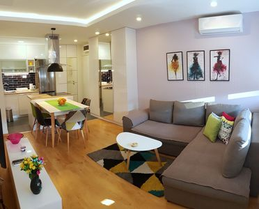 Cozy Home for four, located in the most attractive area of New Belgrade