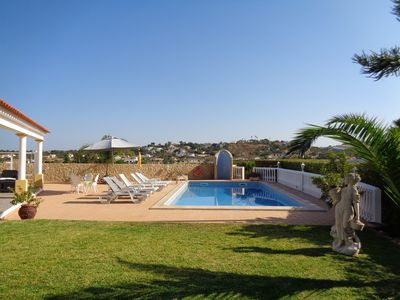 Photo for Detached  villa with private pool,wifi barbecue and air conditio 1 km from the beach