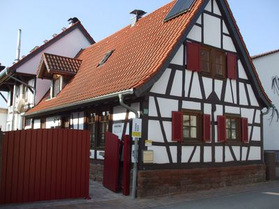 Photo for *** Romantic half-timbered holiday home in the South Palatinate - here is the PFALZCARD