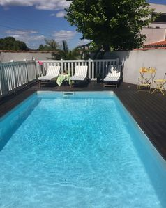 Photo for MAZARGUES Large Modern House with pool: near creeks and beaches