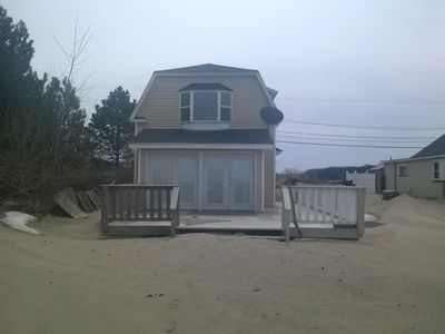 Photo for Lake front home with sandy beach!