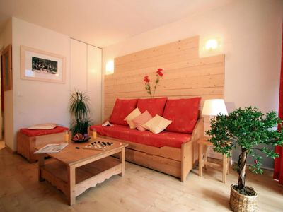 Photo for Swimming pool, sauna, terrace, balcony, parking, tv, ski locker, 32m², Luchon-Superbagnères