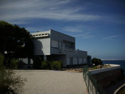 Photo for Cape-point villa, stunning panoramic view of the sea, private pool, tennis courtHouse with garden