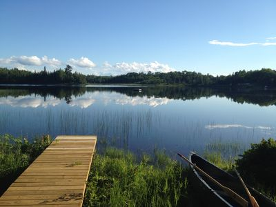 Relax and Enjoy Beautiful Lake Michigamme!   Week of August 17th now available!