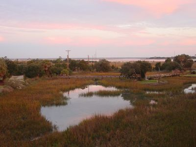 View of Marsh and 16th Tee
