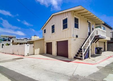 Back apartment over garage.   Garage Parking.  Private Laundry.