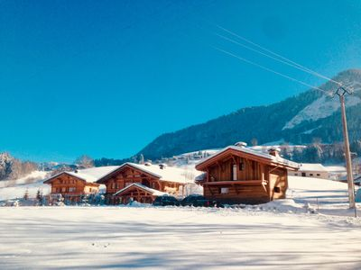 Photo for Contemporary chalet with high quality services.