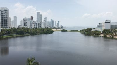 Photo for Modern Resort Apartment with Views of the City&Sea