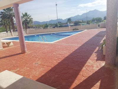 Photo for Family residential, pool, garage, view to the pool area!!