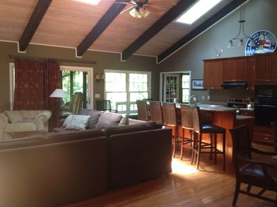 Photo for 3400 Sq. Ft., New Kitchen, 4 BR, 4 BA, Sleeps 12+ beds