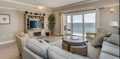Photo for Escapes! To the shores 805 Spacious upscale gulf front condo-great amenities!