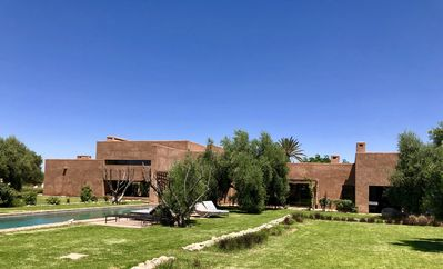 Photo for Secret architect's villa (KO Marrakech) in the heart of an olive grove