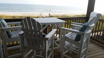 Photo for Beautiful Oceanfront Views, 3 Br Townhome, Family- Friendly