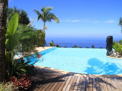 Photo for Le Latanier Rouge ****, Beautiful F3 with private garden, pool & spa