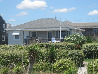 Photo for Much-Loved, Classic 5BR/3BA Ocean-Front Beach Cottage