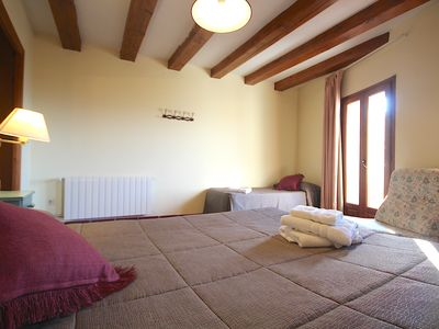 Photo for Centre del Montsec - 201 - Triple Room