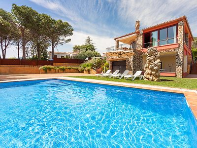 Photo for Vacation home Azul in Calonge - 8 persons, 4 bedrooms