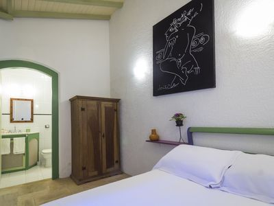 Photo for 2 bedroom suite in the historic center of Paraty