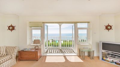 Photo for Broadstairs. 2 bedroom flat with sea views. Grown ups only.