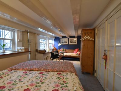 Photo for Luxury studio in 16th-century canal house in Amsterdam, Leidseplein area