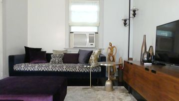 Cozy and luxurious : infused with a modern flair