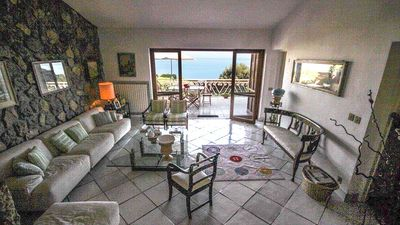 Photo for Monte Argentario CALA GRANDE panoramic villa with garden and descent to the sea