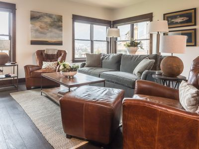 Photo for Newly Constructed, Luxury Town Center Condo on Free Ski Shuttle Route
