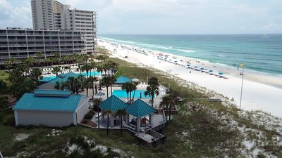 Photo for Dunes of Panama!  *Pet Friendly* Free Beach Service!!  Gulf Front 2 Bedroom !!!!