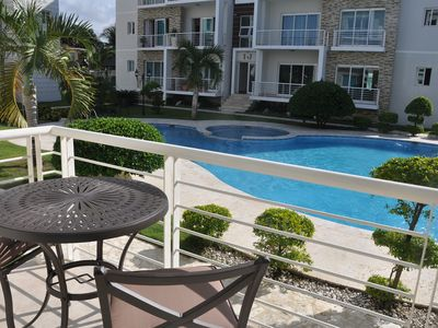 Photo for SENIOR SNOWBIRDS - groundfloor 2BD 2BTH condo with pool in central Sosua