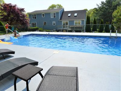 Photo for LARGE HOME FOR 12 WITH HEATED POOL! PET FRIENDLY!