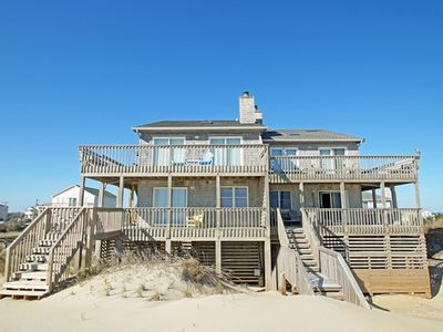 Photo for Oceanfront with 4 bedrooms! Striking interiors with ocean and sound views.