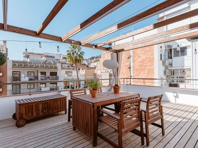 Photo for Spectacular 90 m2 apartment with 2 bedrooms and private terrace
