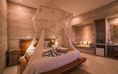 Photo for Romantic Wooden Cottage in Nusa Lembongan, Walk Distant to Beach