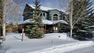 Photo for Frisco Stream Side Is A Premiere Home Providing A Relaxing Dog Friendly Retreat