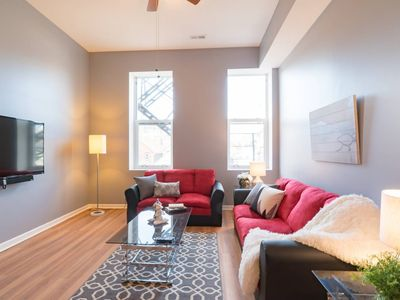 Photo for Nube 1 Bed Apt (Sleeps 4) in Downtown Pilsen | by Cloud9
