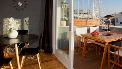 Photo for Private terrace, charm & views in Galata!