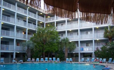 Photo for Great 2 Bedroom, 2 Bath unit in Hilton Head Resort Overlooking Tennis Courts