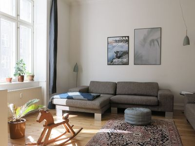 Photo for City Apartment in Copenhagen with 3 bedrooms sleeps 6