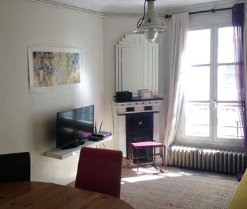 Photo for Very quiet apartment 3 rooms near Jardin des Plantes, 5 persons, ADSL, Cable TV